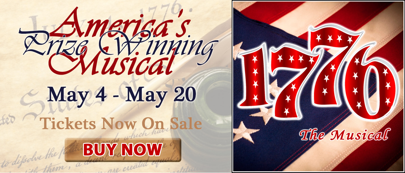 1776 The Musical - May 2018 - Tidewater Players in Havre de Grace