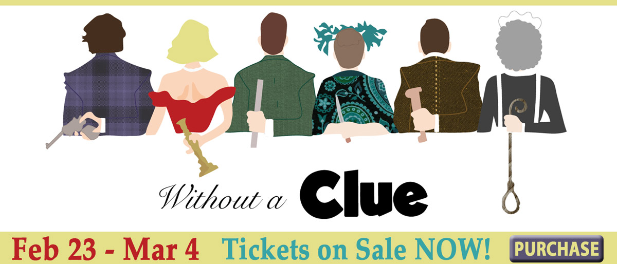 Without a CLUE - An Original Play by Mark Briner