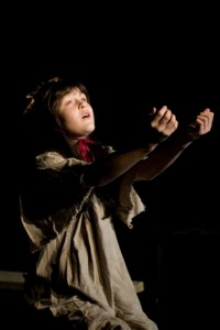 little Cosette in Les Miserables