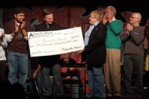 Presenting Moveable Feast Donation from Tidewater Players