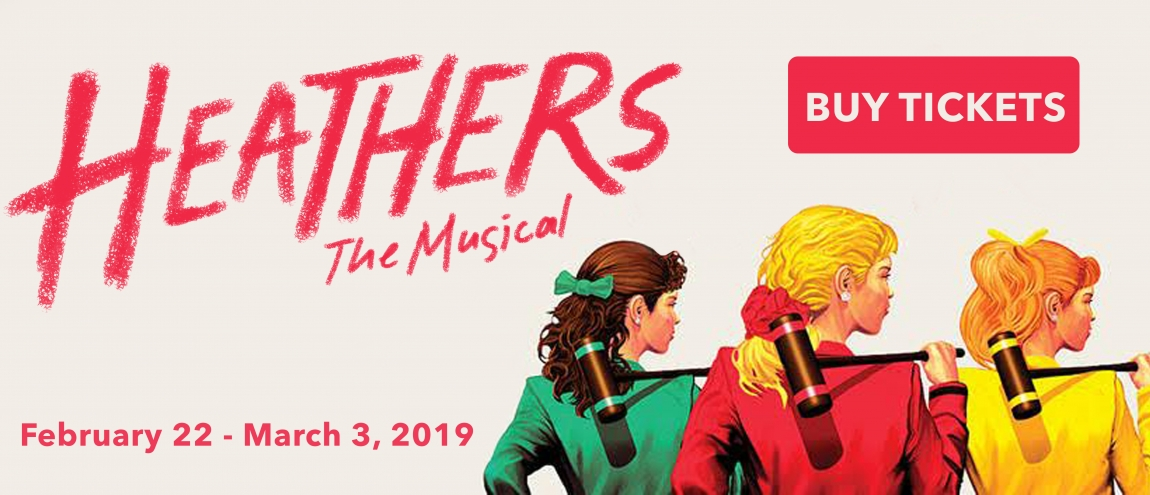 Heathers at Havre de Grace, Maryland Opera House with Tidewater Players