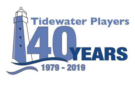 Tidewater Players 40th Anniversary logo